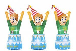 Met deze feestpop huurt u een gezellige feestpop  die u binnen in uw huis kunt plaatsen.