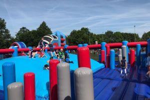 Prachtig luchtkussen, plezier voor alle kinderen!