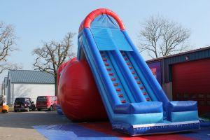 Air slide geschikt voor alle zeskamp en spel zonder grenzen attracties.