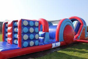 School zeskamp maak combinatie met verschillende zeskamp onderdelen.Vraag advies bij Attractieverhuur De Toren.