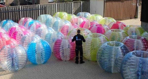 Bumperballen en bubbel ballen van Attractieverhuur De Toren
