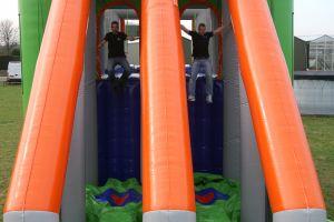 Met deze Dubbele Base jump heeft u dubbele capiciteit.