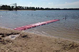waterloopmat met 10 meter lengt is dit ideaal voor water zeskamp.