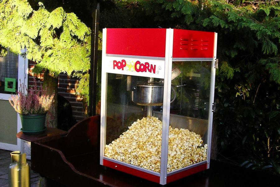 Popcorn apparaat; geschikt voor ieder evenenement. Nu te huren bij Attractieverhuur deToren.