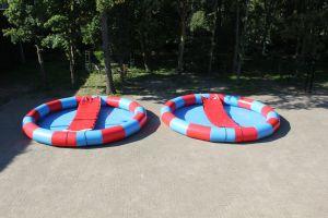 waterbad met watermat; isgeschikt voor ieder event.Huur dit waterbal bij Attractieverhuur de Toren.