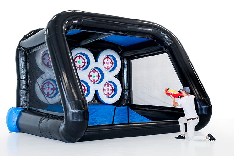 Interactive playsystem, IPS Multi Sport Arena huren bij Attractieverhuur De Toren
