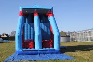 De Spidertoren met base jump is een van de beste attracties van dit moment.
