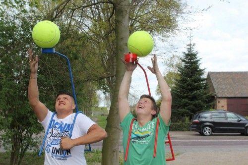Ballopen voor volwassenen.