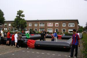 Pannavelden opblaasbaar 2x2x2 word op verschillende toernooien ingezet; Tilburg, Eindhoven, Waalwijk en Breda zijn vaste lokaties.