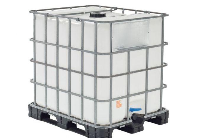 Hoogwaardige kwaliteit watervaten met een capaciteit van 1.000L