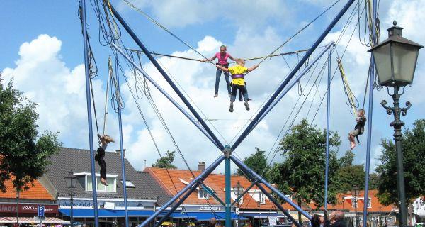 Bungee trampolines van Attractieverhuur De Toren