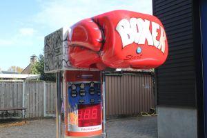 De goedkoopste boksbalmachine van Nederland!