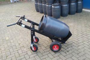 Steekkar voor verijden watertanks.