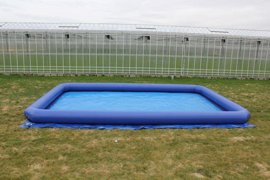 Waterbad / speelveld 12 x 8m in actie !