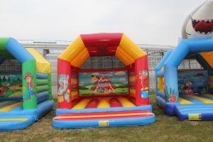 Springkussen Circus; geschikt voor elk evenement. Nu te huur bij Attractieverhuur De Toren.