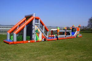 Zeskamp groot; iedere evenement is geschikt om wipe out te organiseren.Nu huurt u bij Attractieverhuur De Toren.