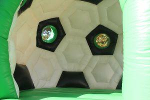 Springkussen Voetbal te huur in vlijmen, Haarsteeg, Drunen, Waalwijk en Den Bosch.