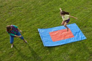 Iedere zeskamp in het klein hoort een vliegend tapijt.