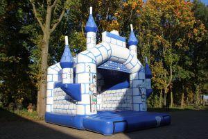Springkussen kasteel is het meest voorkomende thema van ieder evenement.