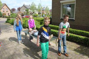 Brancard race word voor zeskamp, familiedagen en andere sportieve activiteiten ingezet.